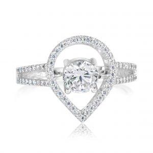 טבעת אירוסין Mia מיה