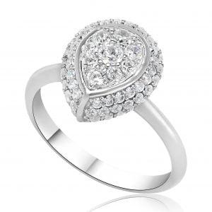 טבעת אירוסין Zoey זואי