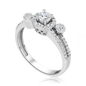 טבעת אירוסין סופיה Sophia