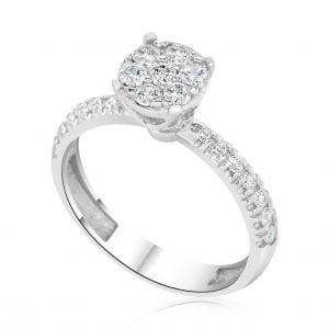 טבעת אירוסין ויקטוריה Victoria
