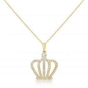 שרשרת יהלומים Crown קראון