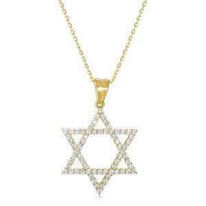 שרשרת יהלומים David דייויד