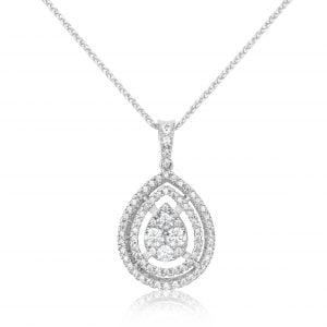 שרשרת יהלומים Anastasia אנסטסיה