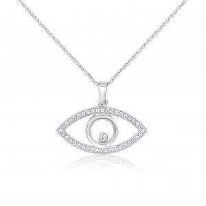 שרשרת יהלומים / תליון עם יהלום Eliza אליזה