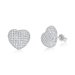 עגילי יהלומים צמודים לאוזן Kristin קריסטין