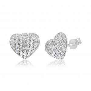 עגילי יהלומים צמודים לאוזן Sylvia סילביה