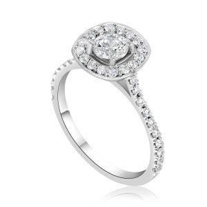 טבעת אירוסין Demi דמי