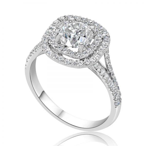 טבעת אירוסין Kathryn קת'רין 1 קראט