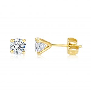 עגילי יהלום צמודים לאוזן Perrie – פרי